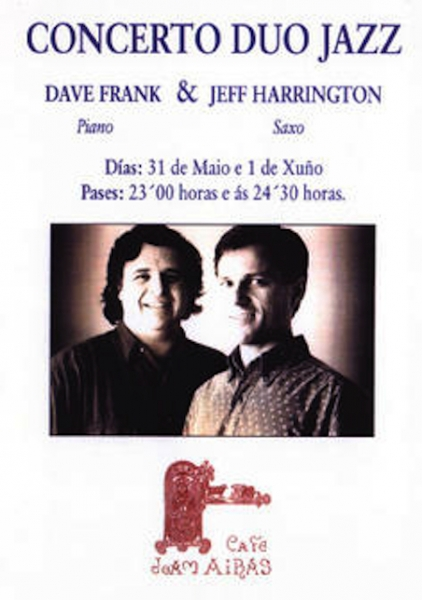 With Dave Frank in Spain