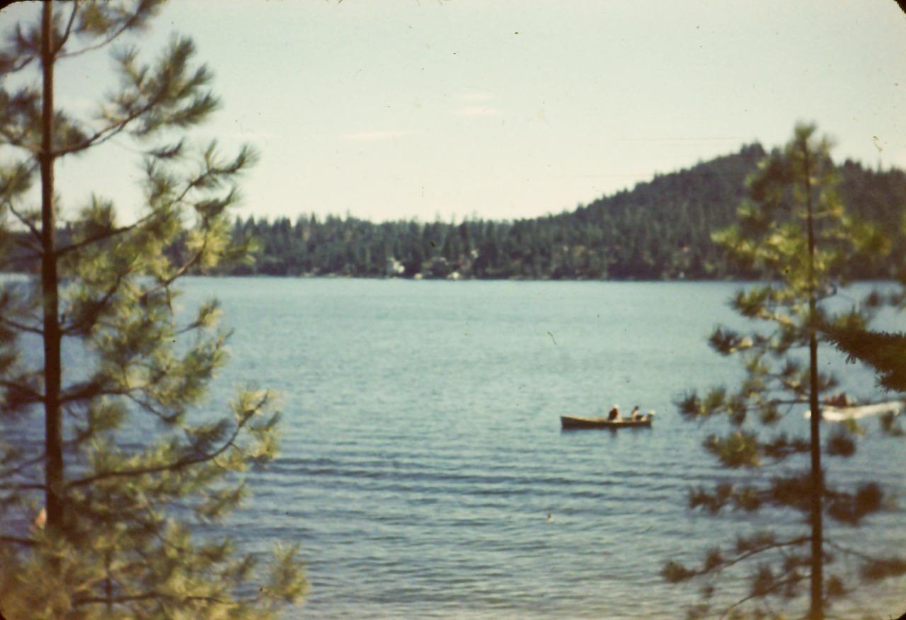 Friends Canoeing by my grandpa Frank Miller.