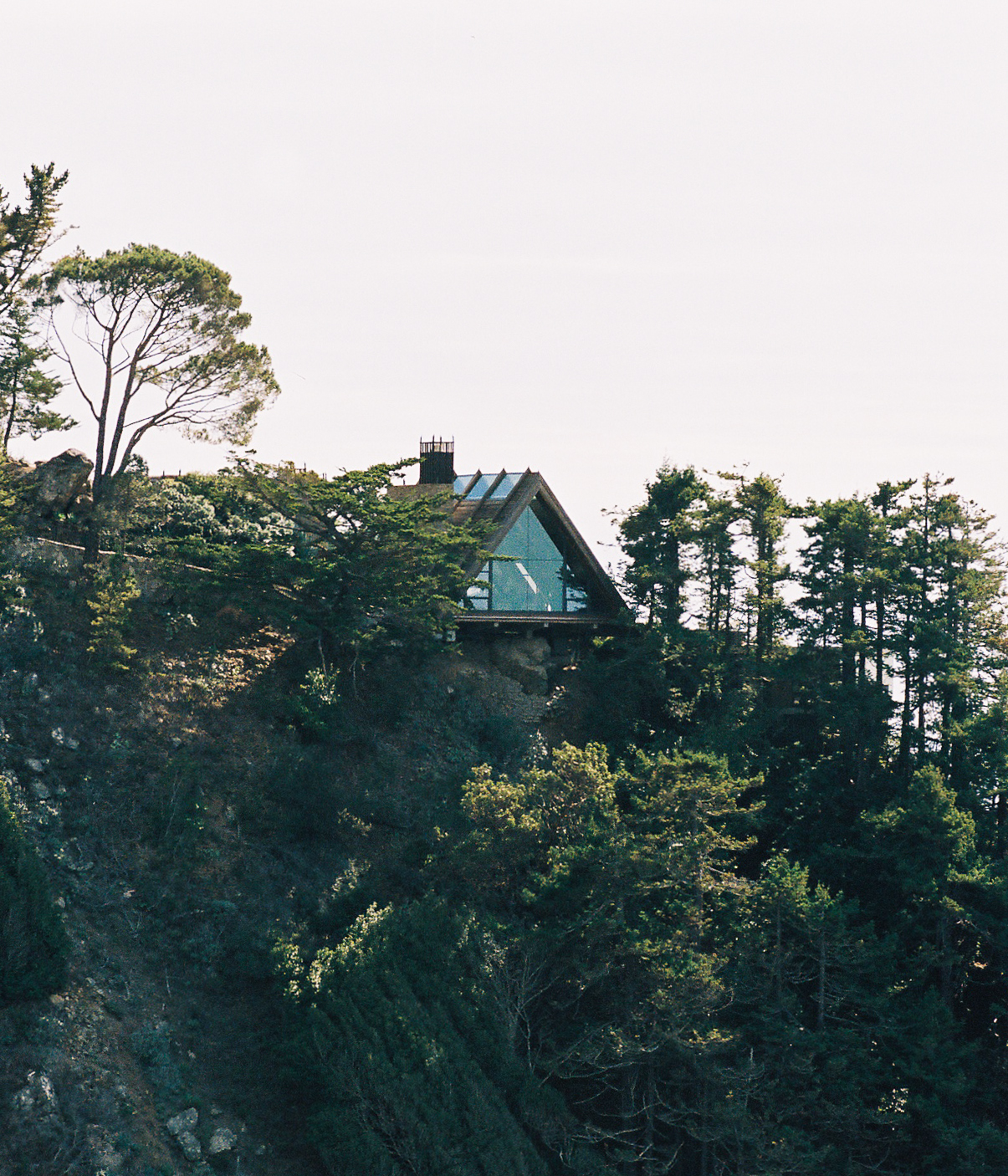 House in Big Sur by  Lon.