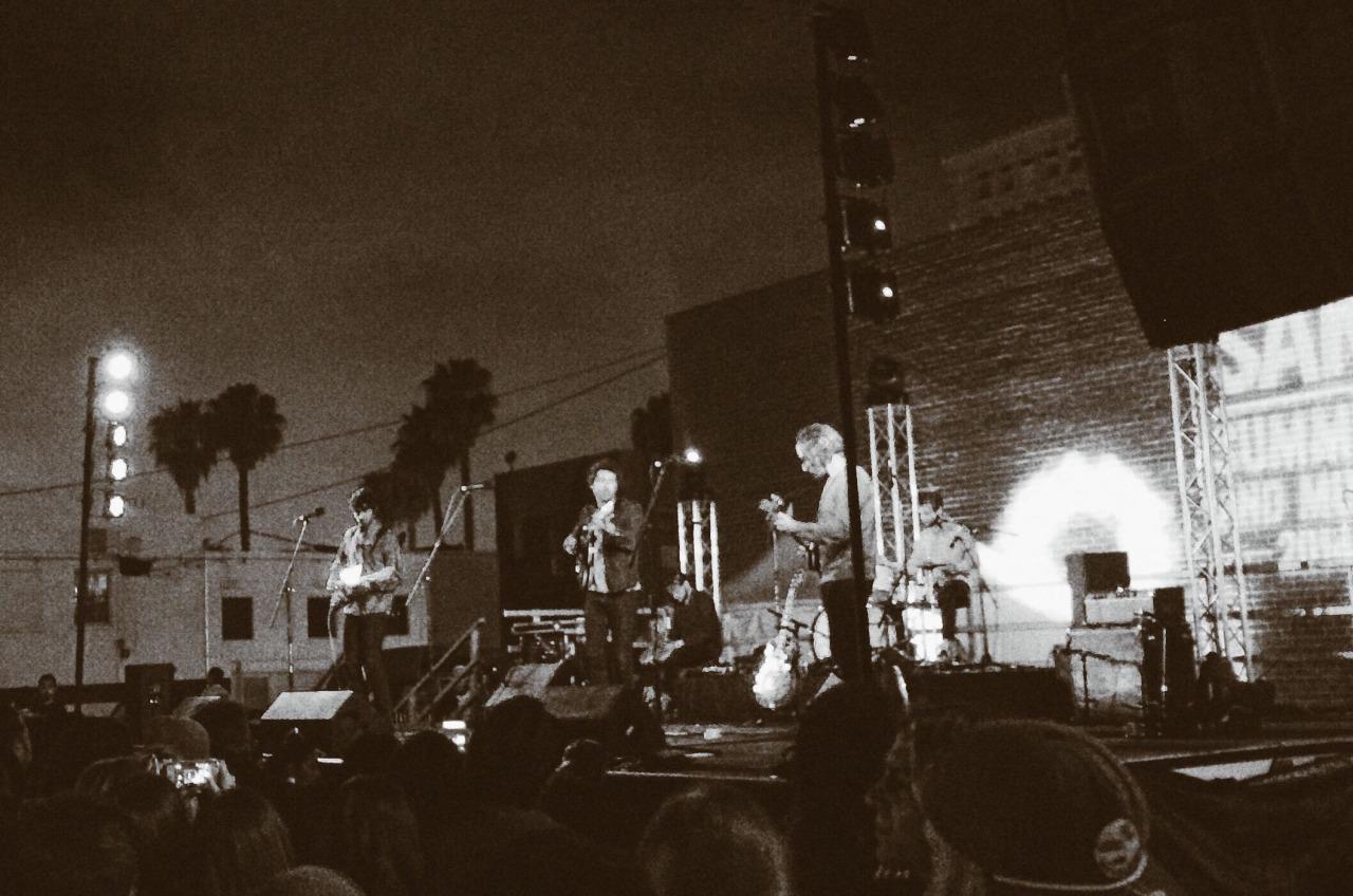 The allah las last night in Long Beach.