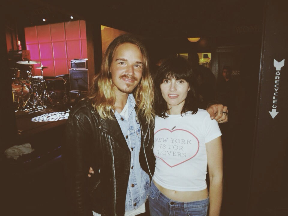 Rad to meet Isabella Manfredi of The Preatures the other night!