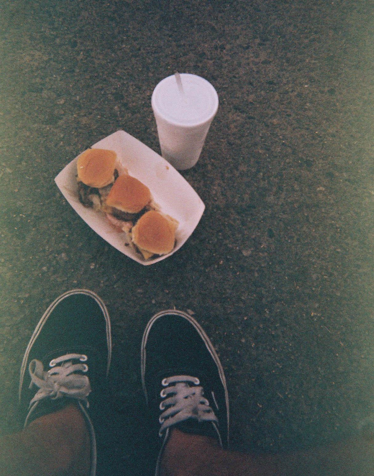 Lunch at Venice Beach, CA