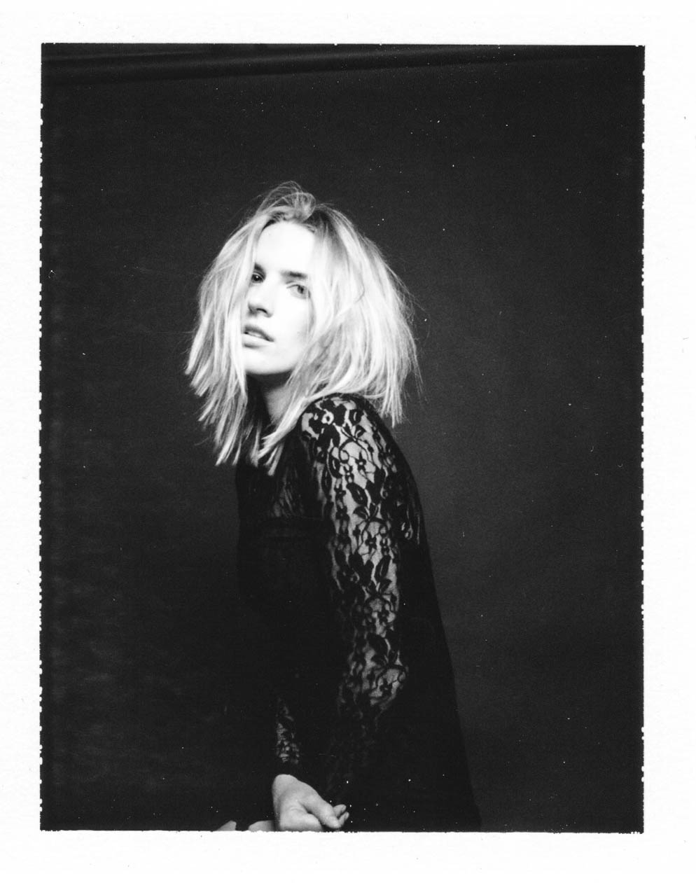 Polaroid outtake with Chloe by  Lon.