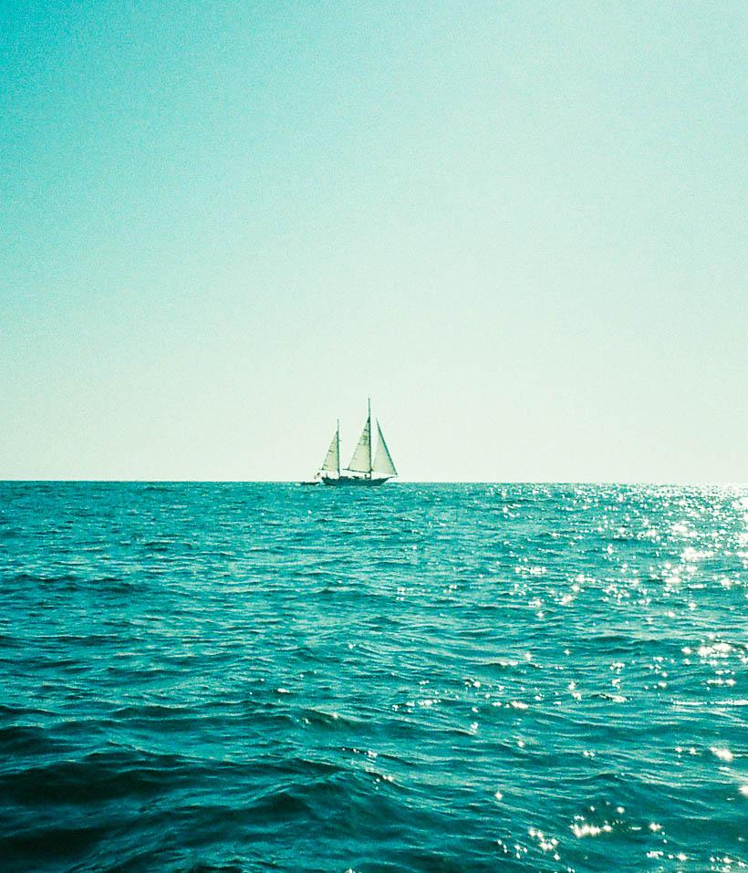 Sailboat by Lon.