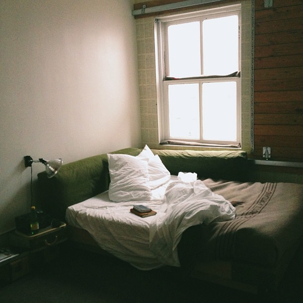 Morning at the Ace Hotel in Portland