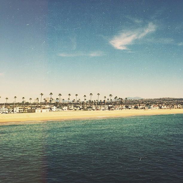 Newport coast looking good today