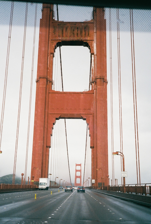 ©  Lonnie Webb    Rad to finally cross this bridge