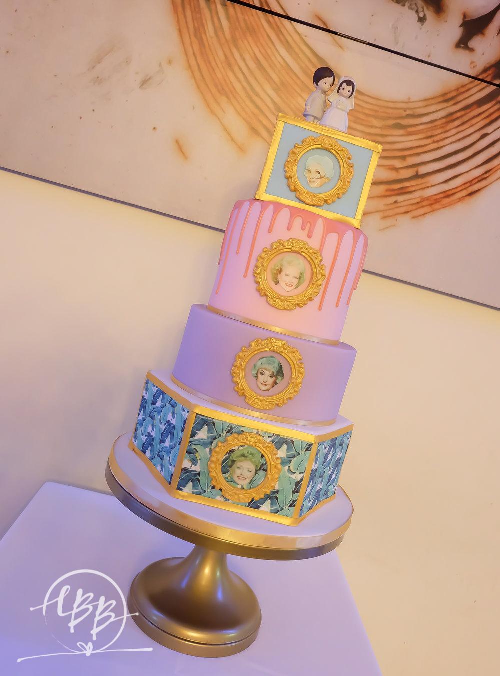 Victoria Warehouse Golden Girls Wedding Cake Botanical Drip.jpg