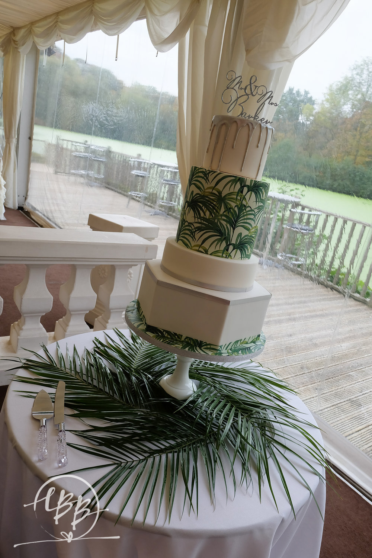 Thornton Manor Lakeside Marquee Botanical Wedding Cake House Of Hackney.jpg