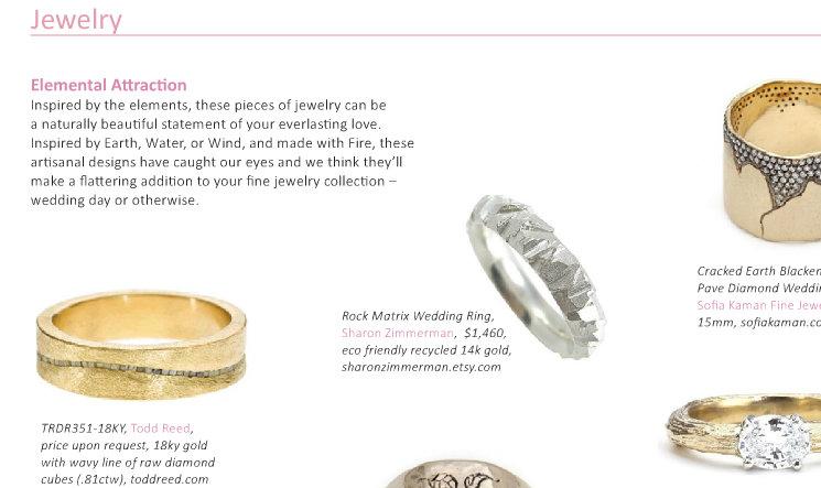 Sharon Z Jewelry in Sweet Violet Bride