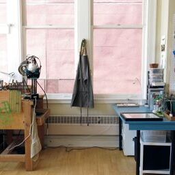 workspace of sharon zimmerman