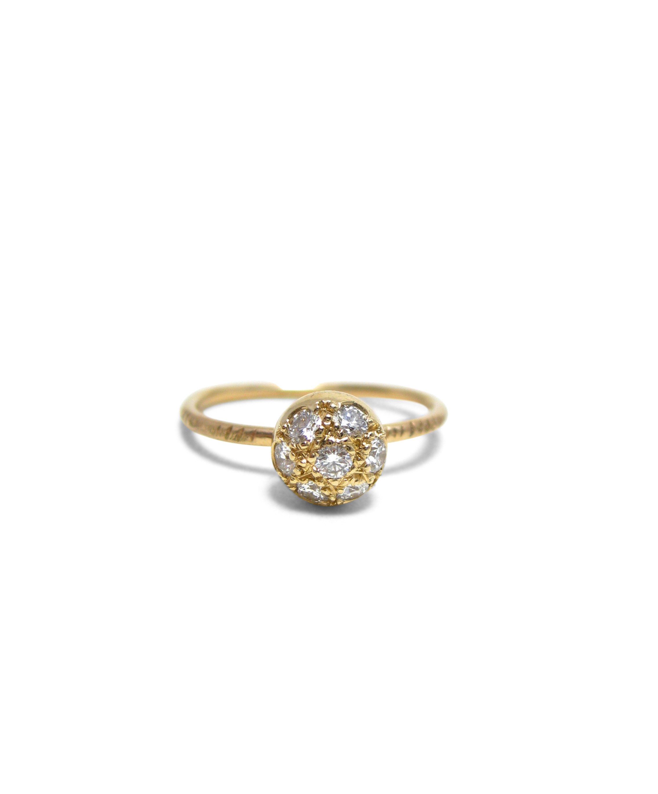 Sparkle-Ball-ring-recycled-diamonds-14-karat-gold