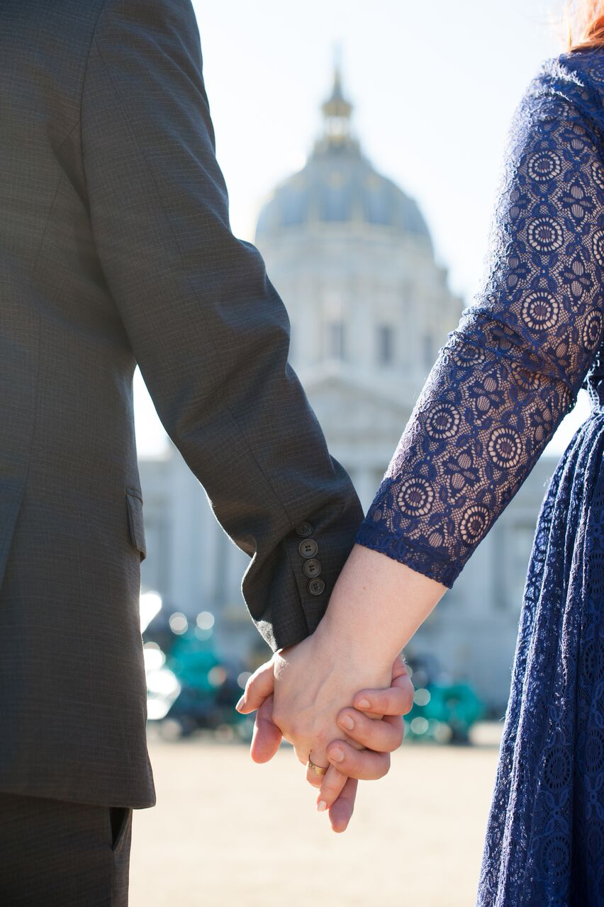 San Francisco City Hall Wedding - Anna Hogan Photography