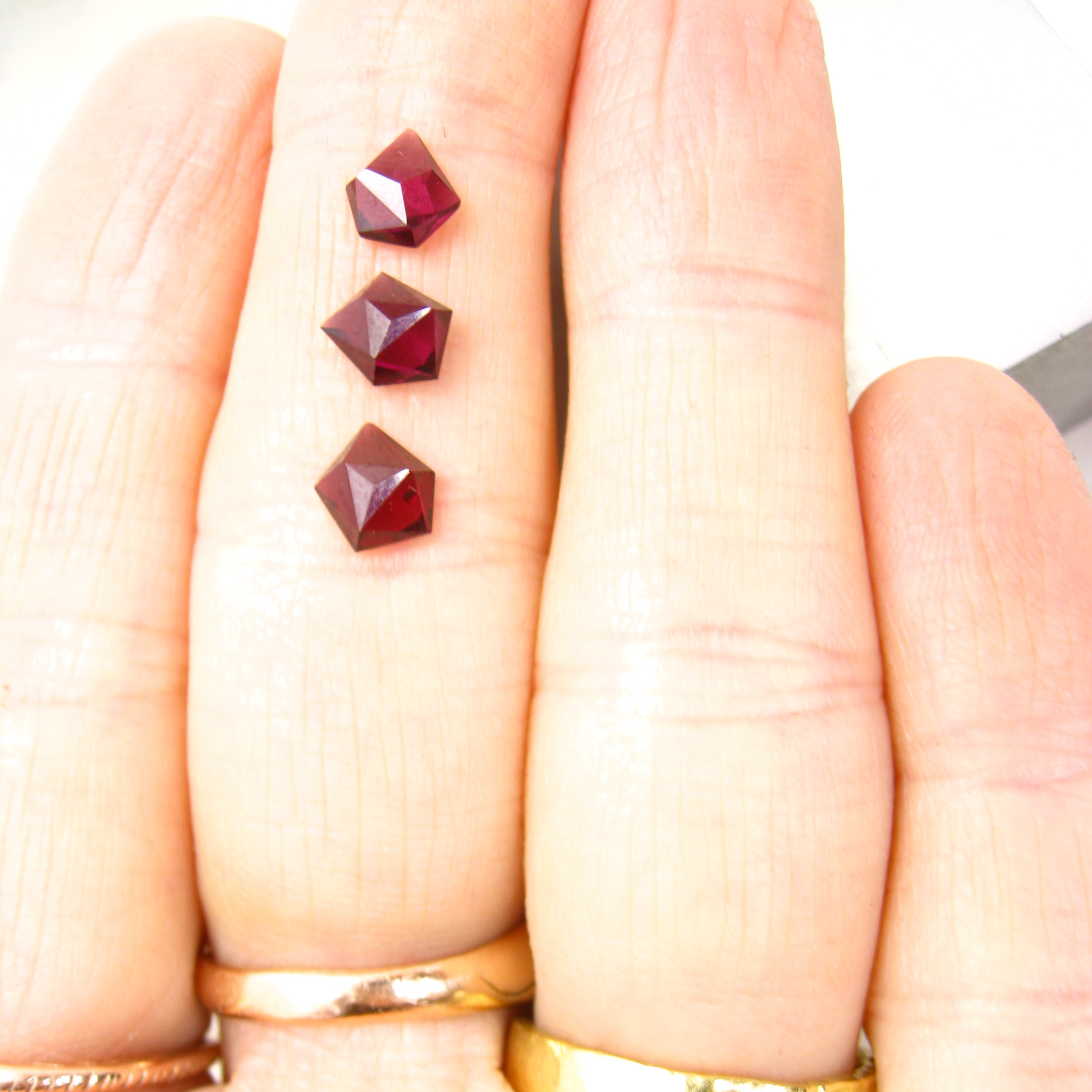 Ant-hill garnets are my new favorite gemstone.