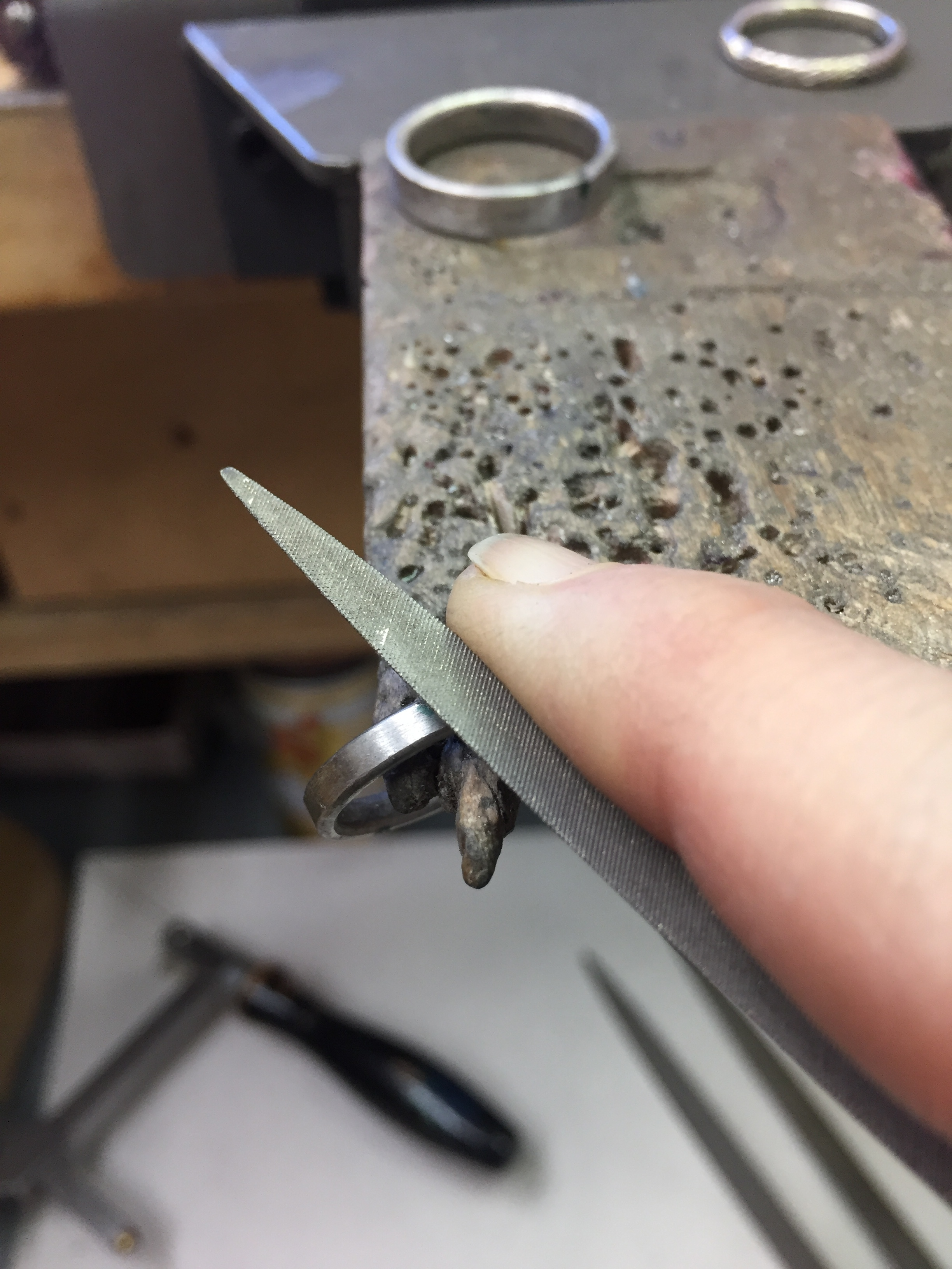A Labor of Love - make your own wedding rings in the heart of San Francisco