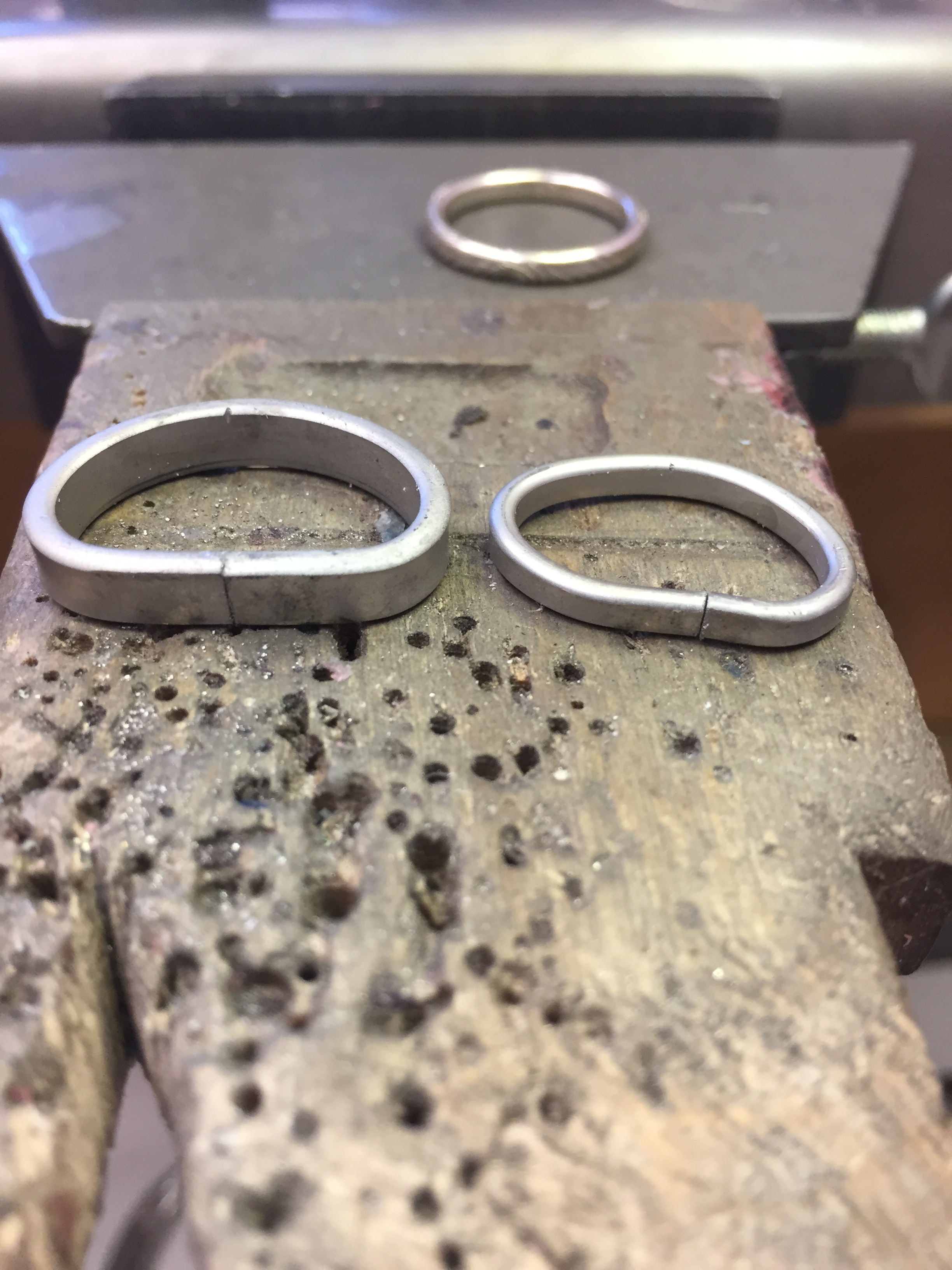 A labor of love - make your own wedding rings