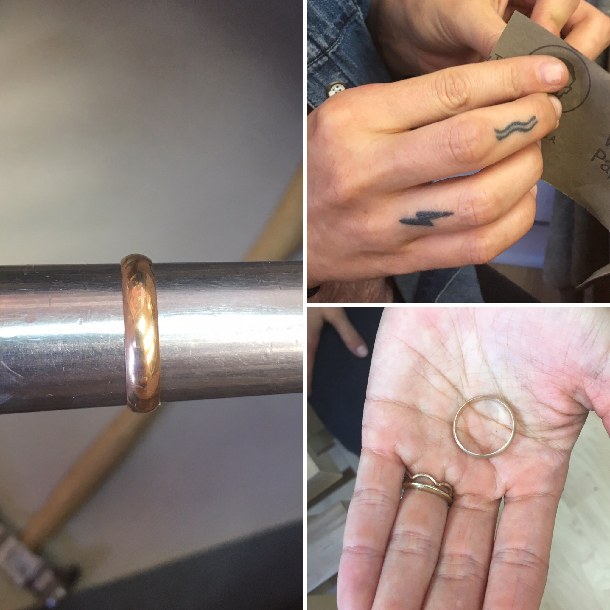 A Labor of Love - wedding ring workshops for engaged couples