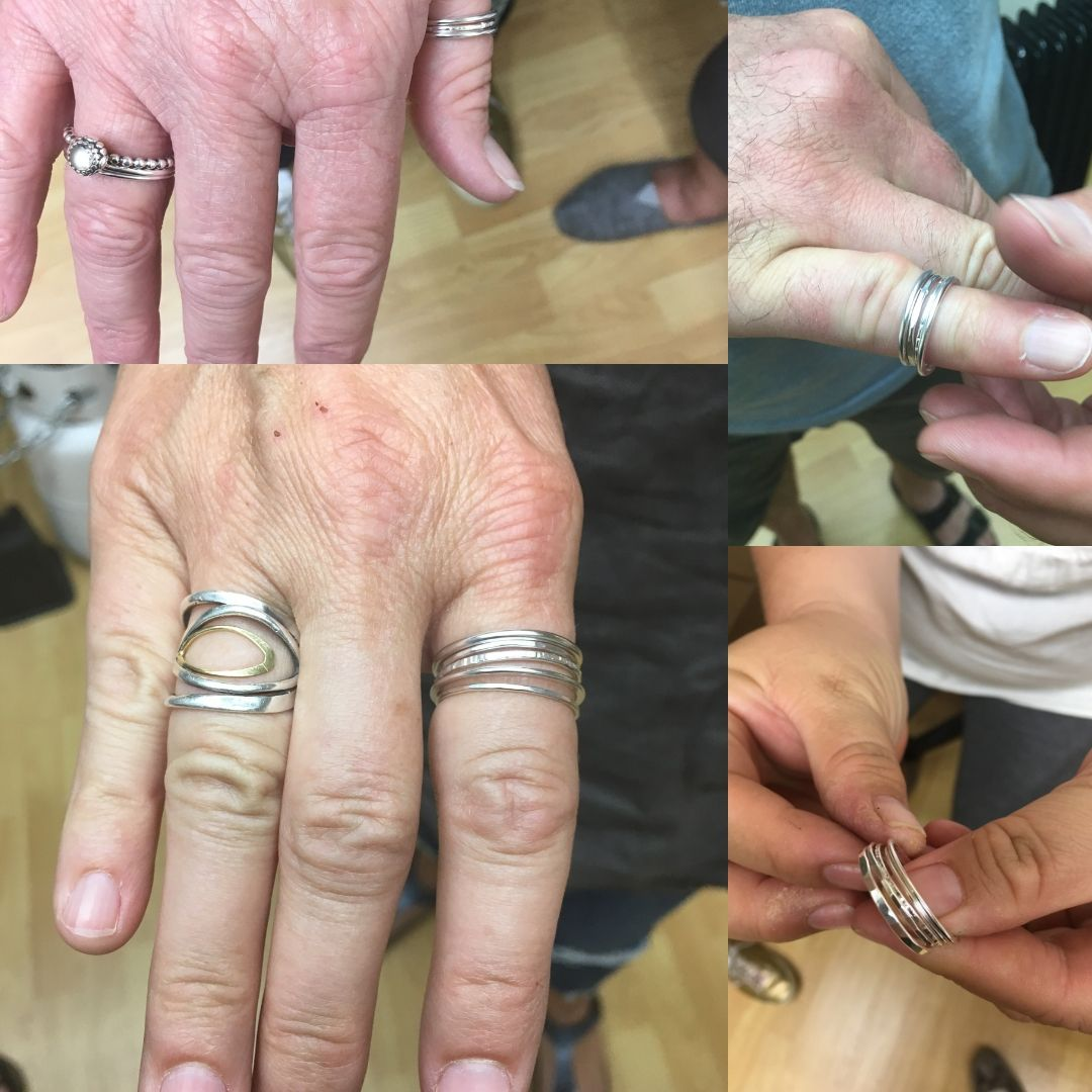 Group shot from a recent stacking ring workshop