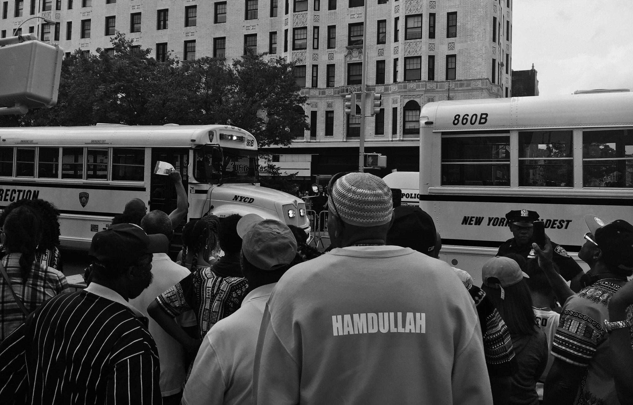 Hamdullah , Harlem, 2016, By Bocafloja