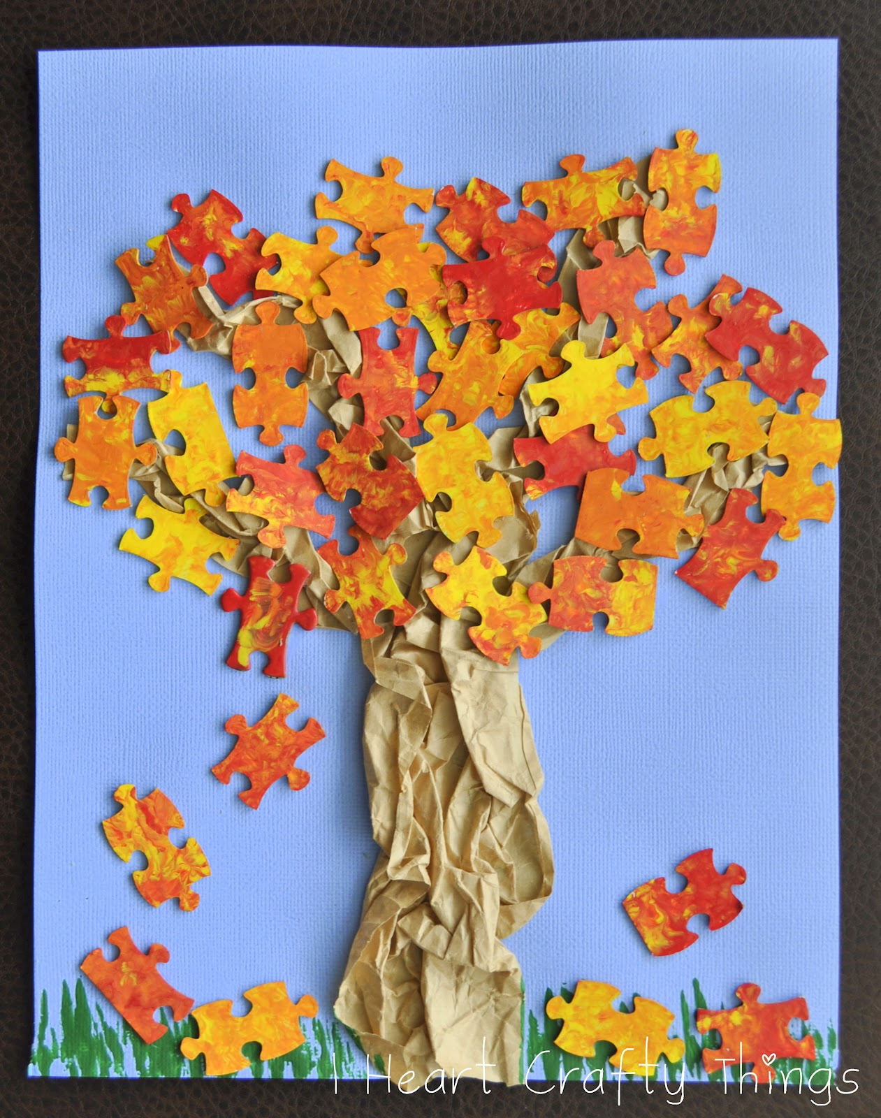 Five Fall Crafts For Kids Mary Mother Of The Light Academy