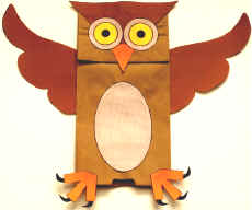 paper-bag-owl-puppet-craft