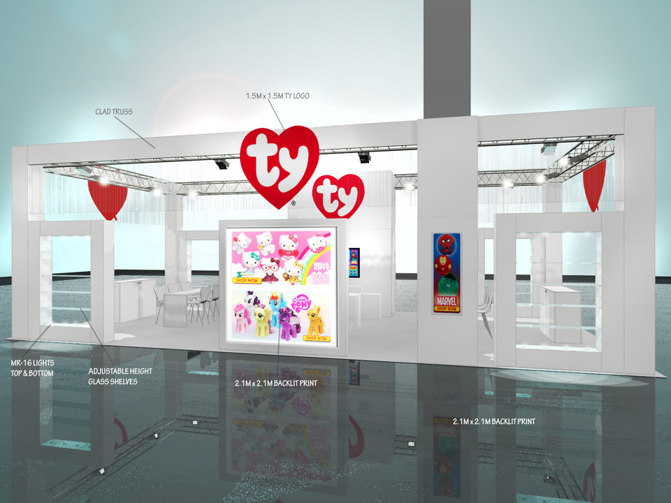 Designed here by RND Exhibits International
