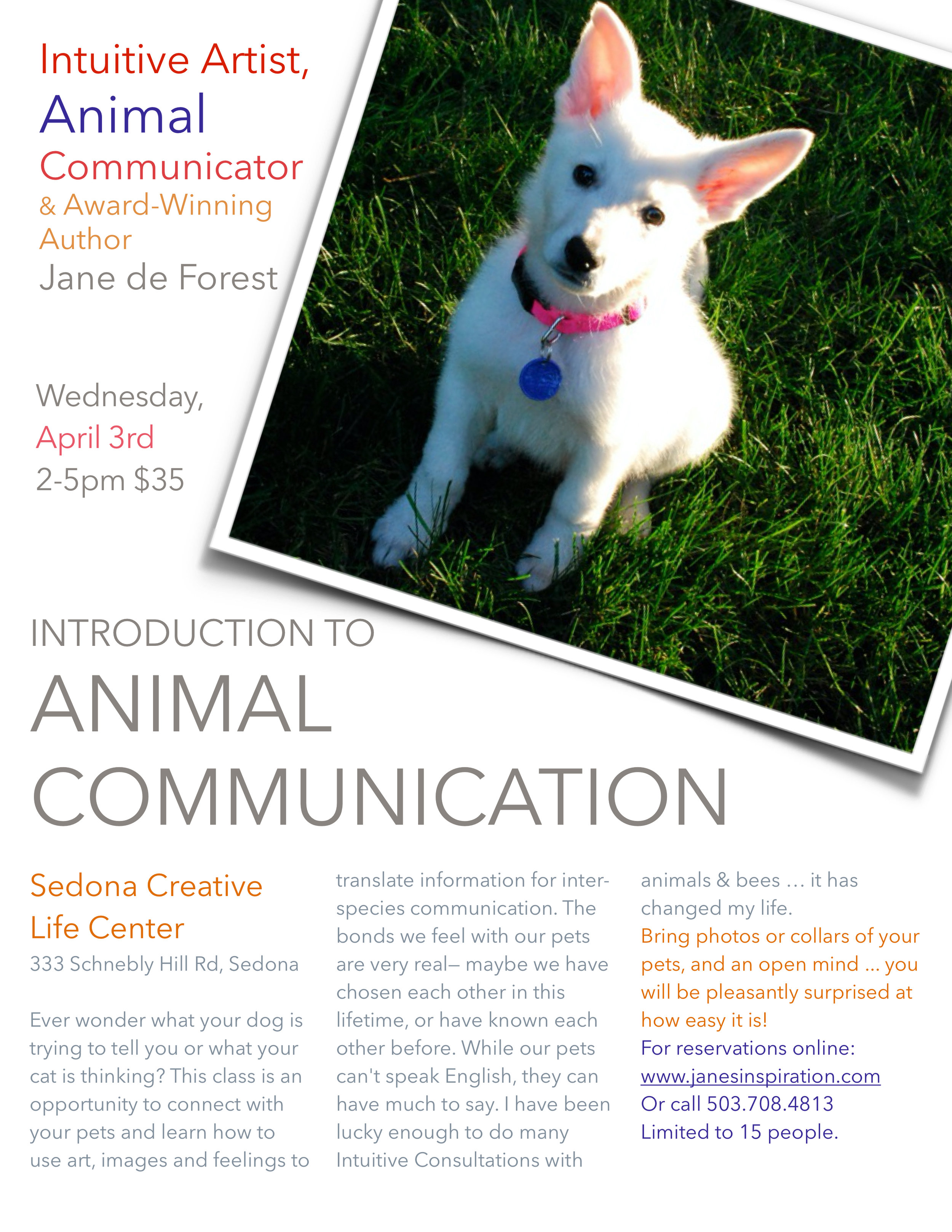 Sedona animal communication flier front.jpg