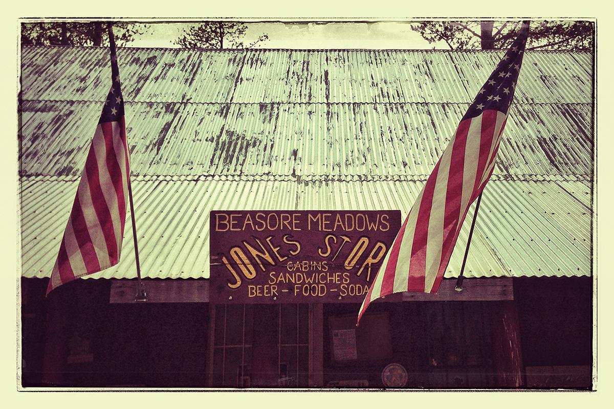 Jones Store. Beasore Meadows. Yosemite National Forest, California. Wasim Muklashy Photography