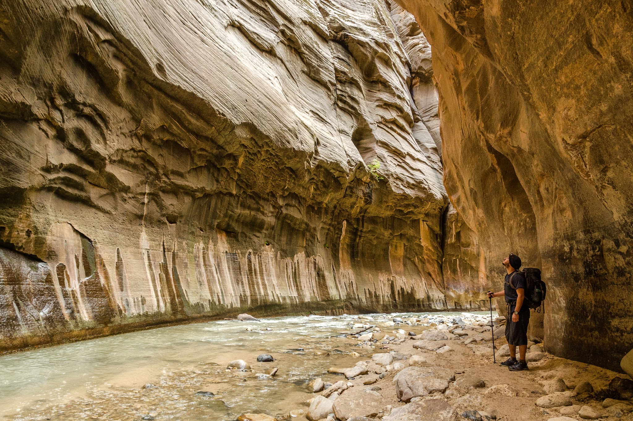 The Narrows. Zion National Park, Utah. Wasim Muklashy Photography