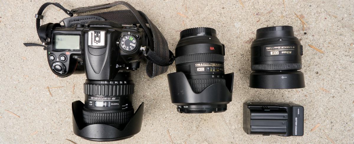 Wasim Muklashy Photography_Hiking_Backpacking Camera Kit_Nikon D7000