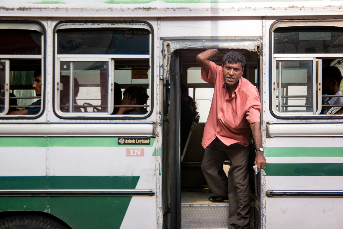 Bus Driver, Colombo, Sri Lanka, Wasim Muklashy Photography, Wasim of Nazareth