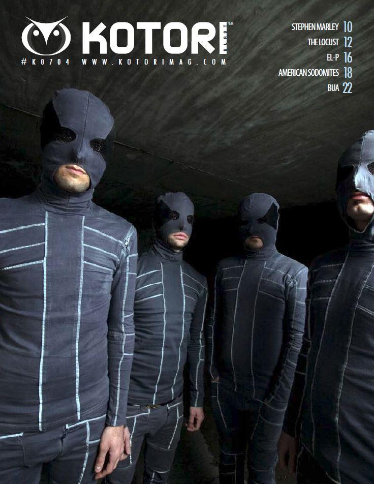 WAV Kotori Magazine Blast 2 The Locust Stephen Marley El-P American Sodomites BUA.JPG