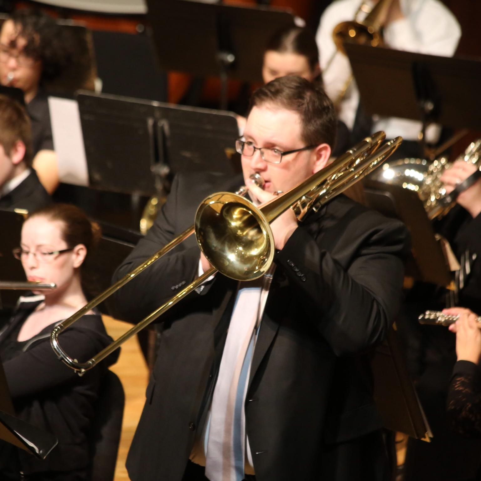 Performance w/Berea College Wind Ensemble, 2014