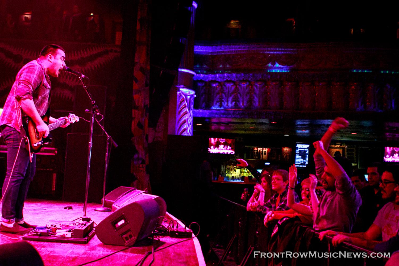 House of Blues, Chicago, IL, January 2015.  Credit to  John Kosiewicz .