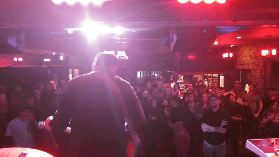 Cobra Lounge, Chicago, IL, November 2015.    Better Days  release show.