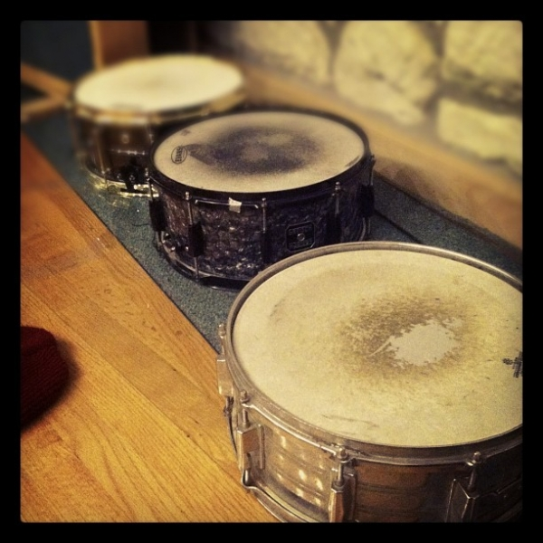 Snares.  Recording  A Harm Deep But Shining with  The Jungle AE.