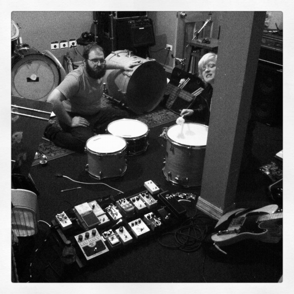 Change ALL the drum heads! The week before we started recording  A Harm Deep But Shining .