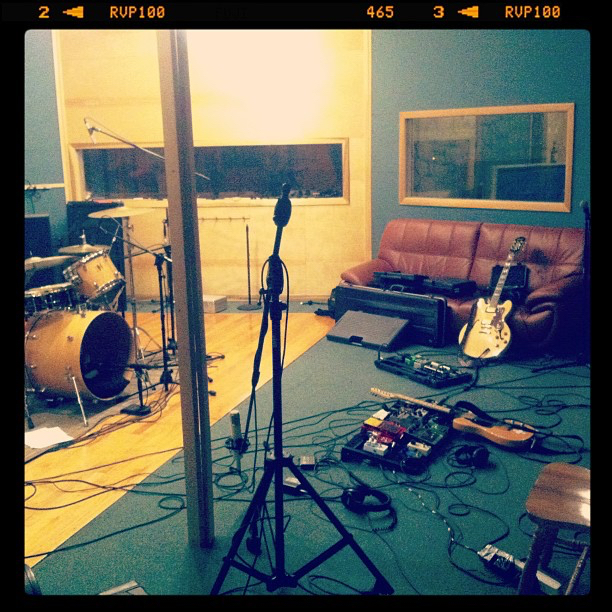 First day of tracking at Miller Street Studios for our first LP!  Recording  A Harm Deep But Shining  with  The Jungle AE.