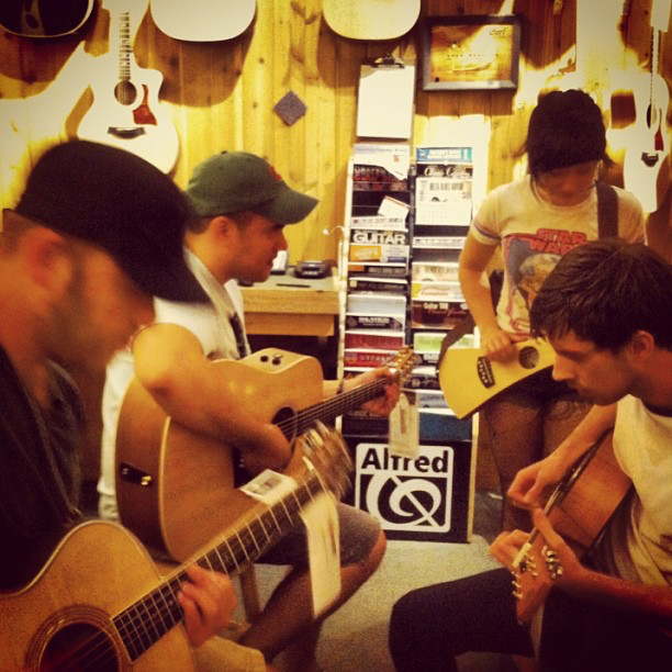 Guitar Center break in Wisconsin.  Summer 2013