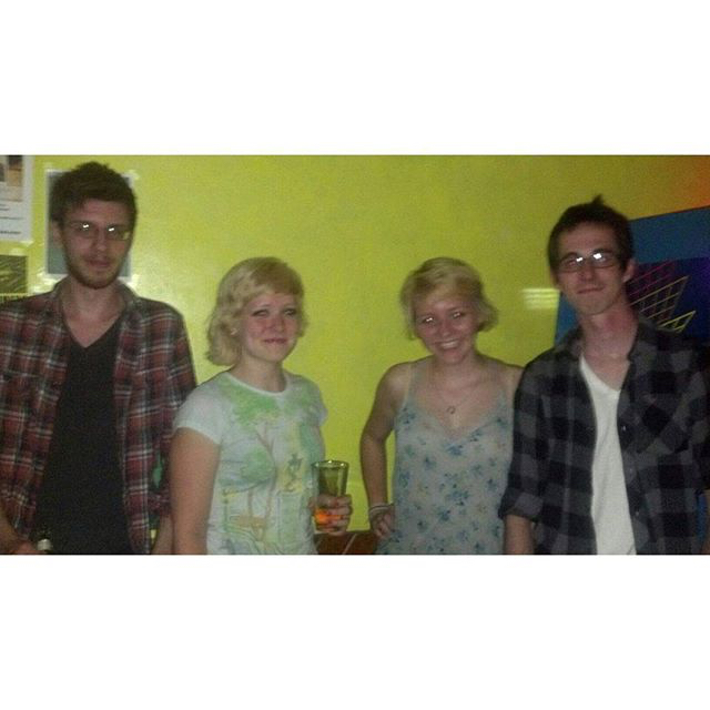 That time Annette and Dustin met their Madison doppelgängers.  Summer 2012