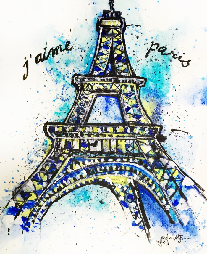 I Love Paris - SOLD