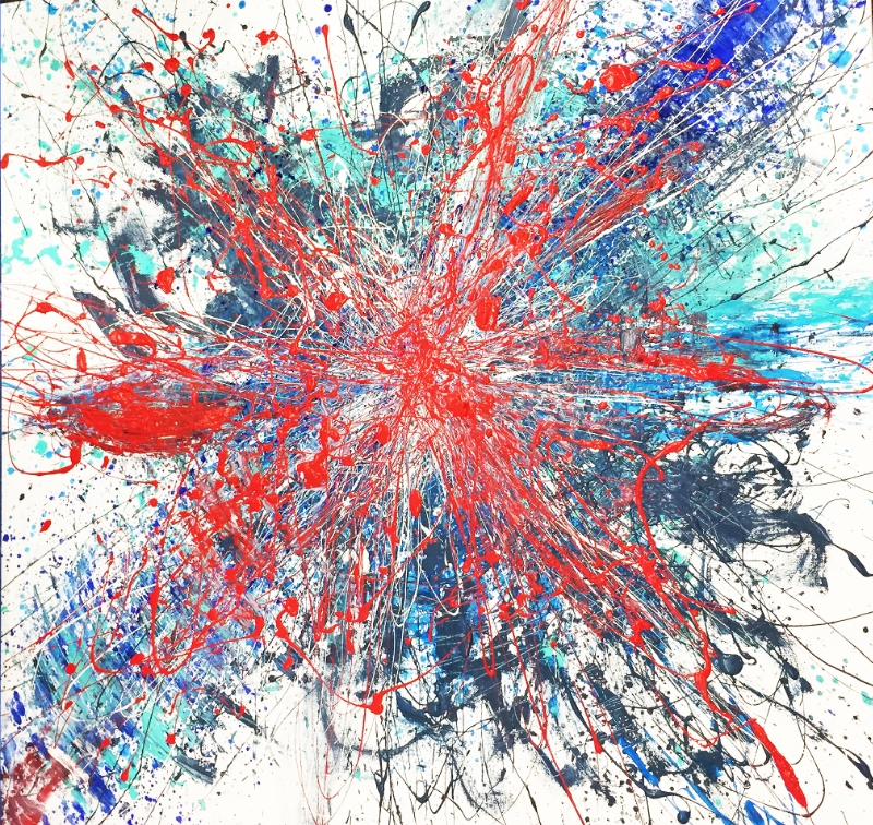 Red Frequency - SOLD