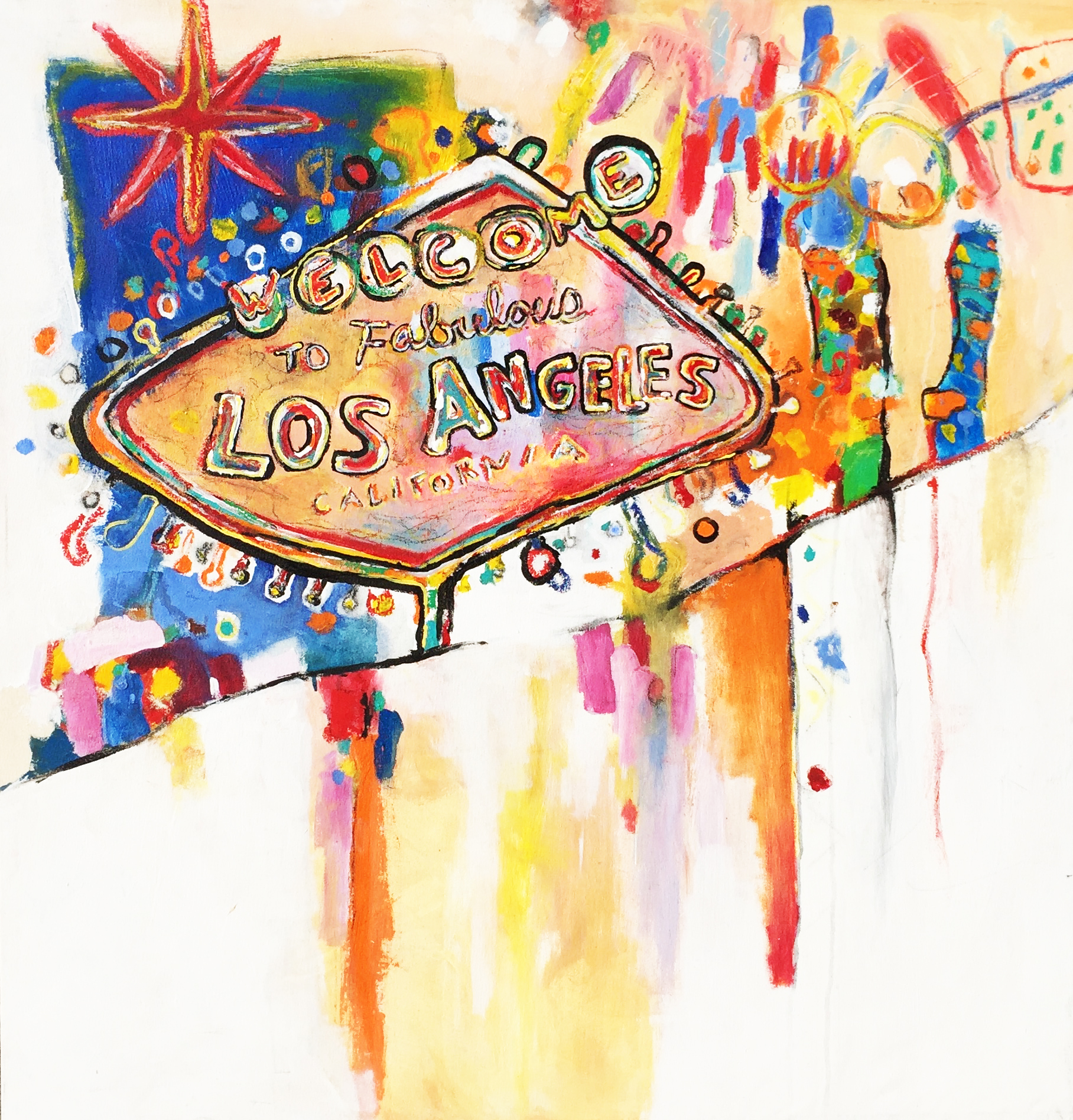 Las Angeles - Available for Purchase - Email info@annmcferran.com for inquries