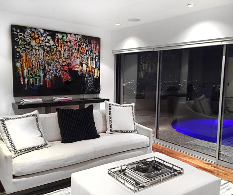 """""""The City of Lights"""" - Hollywood Hills Residence"""