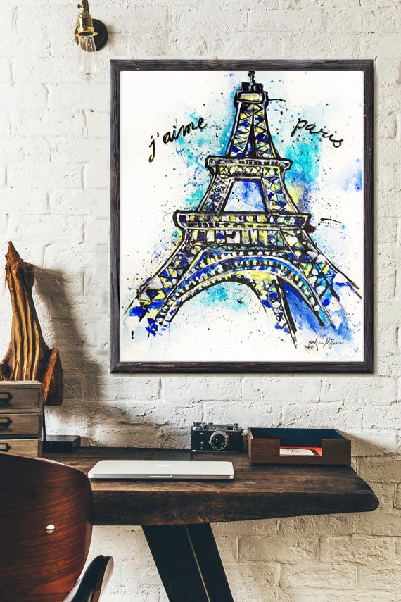 """Love Paris"" for Nabil Afifi, Fellow UCLA graduate"