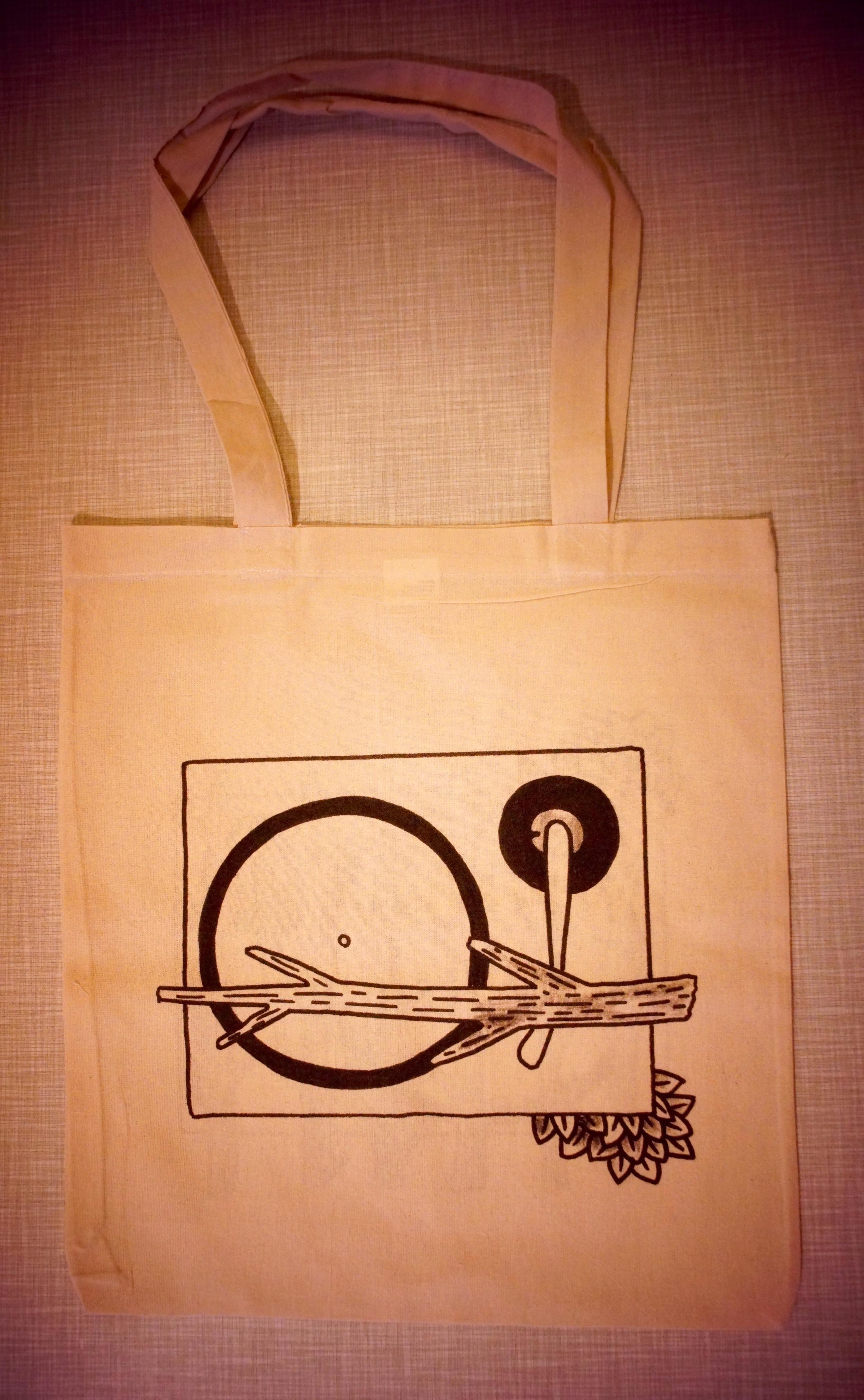 Perfect Vinyl bag.