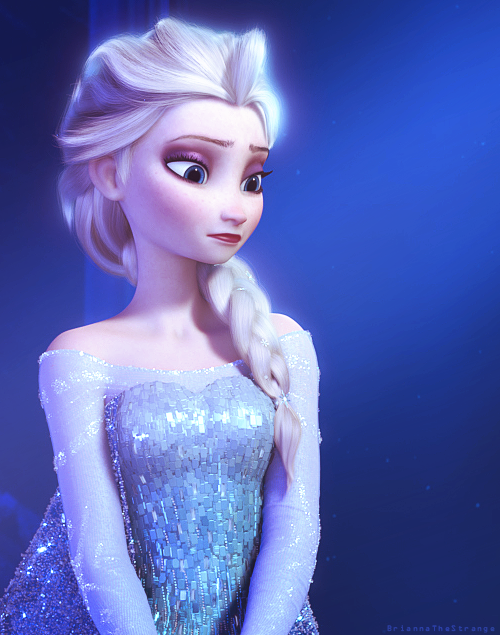 I'm certain Elsa has captured the imagination of many a bride to be!