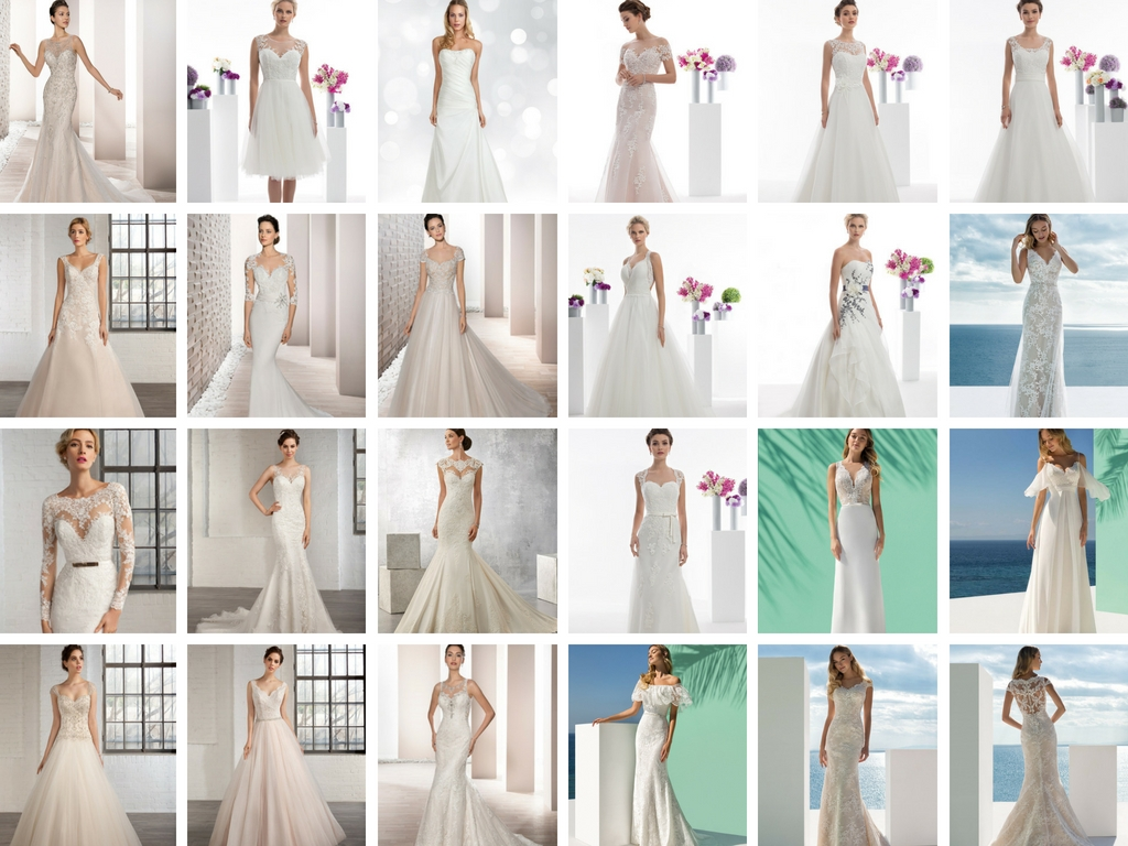 A selection of our sale gowns - all these available and more!