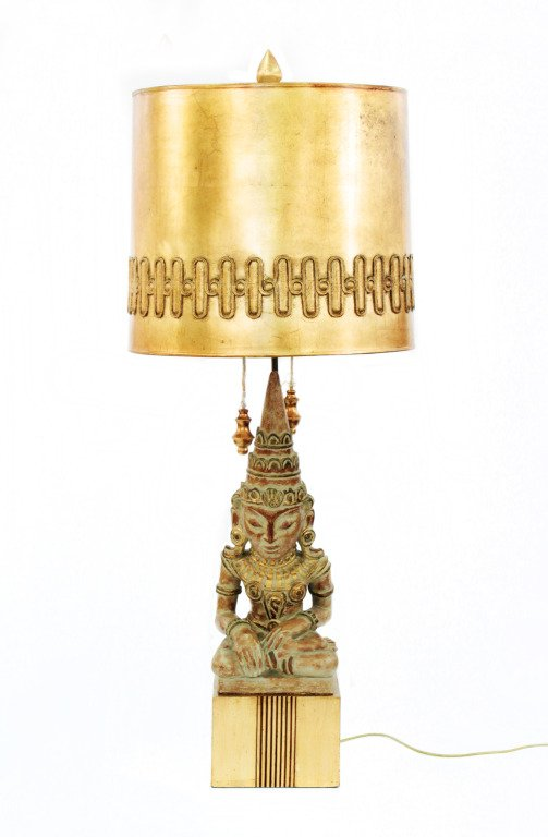 1stDibs- Rare Buddha Table Lamp by James Mont- £4,981.70
