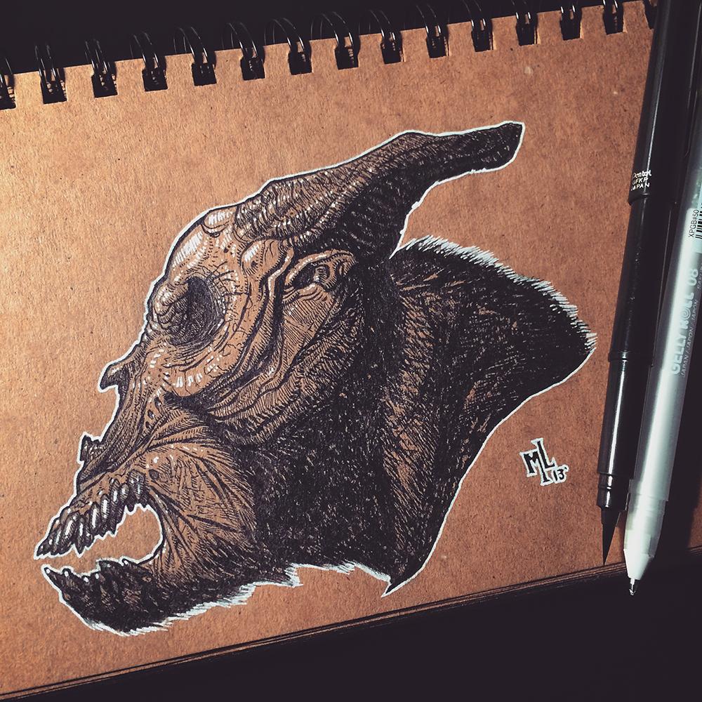 Stretched Skin Sketchbook 01